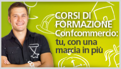 CORSI FORMAZIONE CONFCOMMERCIO
